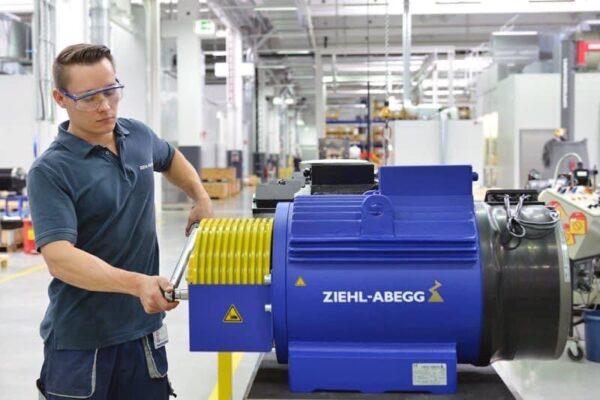 động cơ ZIEHL - ABEGG - Đức